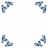 Delfts Blauw tegeltje (nr. 3)_